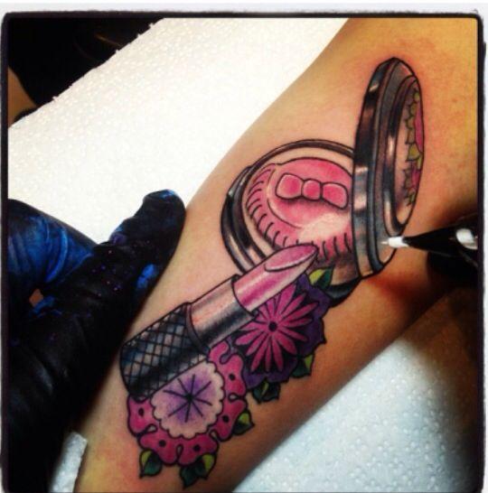 makeup artist tattoo ideas - photo #1
