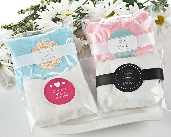 Wedding Personalized Cotton Candy Favors