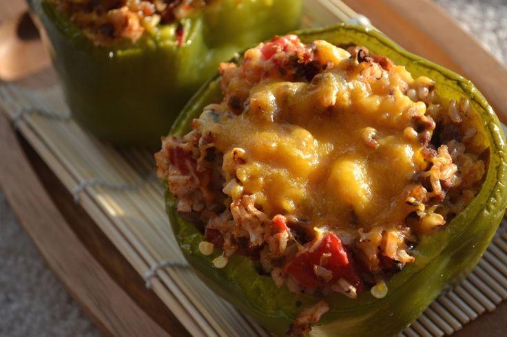 Stuffed Green Peppers | Recipes | Pinterest