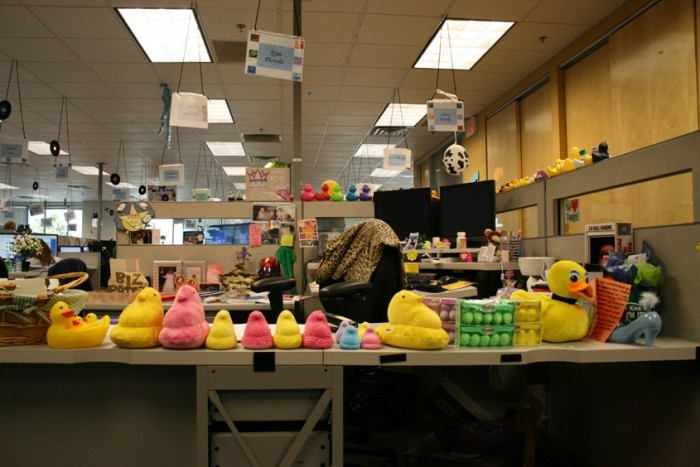 cubicledecor conquered by duckies ;) | Decorated Cubicles | Pinterest