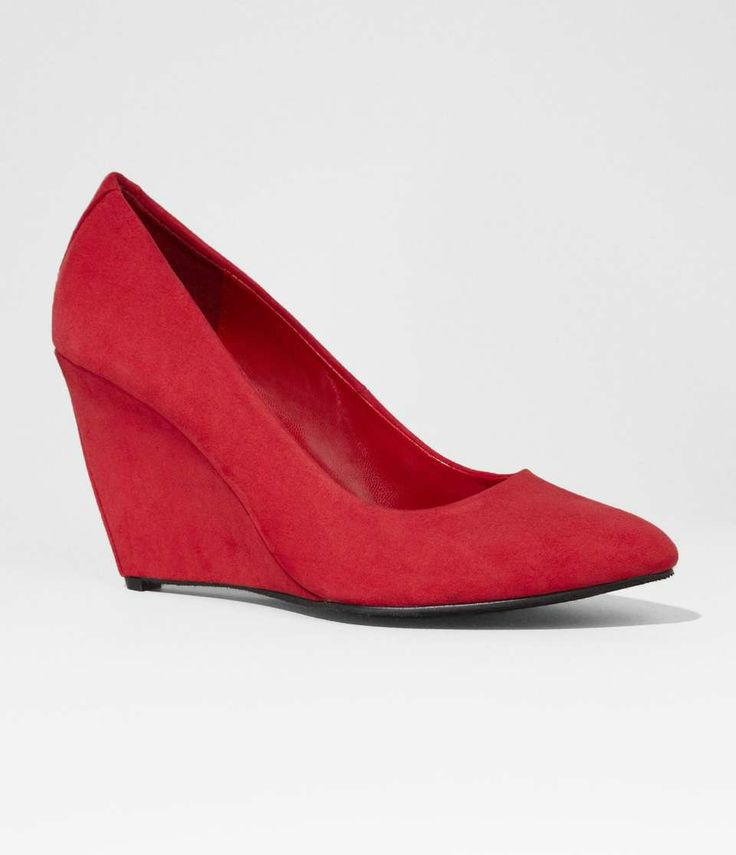 ALMOND TOE WEDGE on Wantering | $30 | Shoes Under $100 | womens