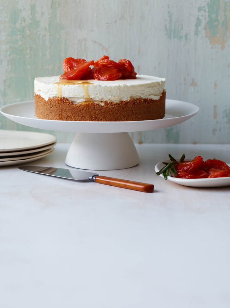 Blueberry Mascarpone Cheesecake With Amaretti Crust Recipes ...