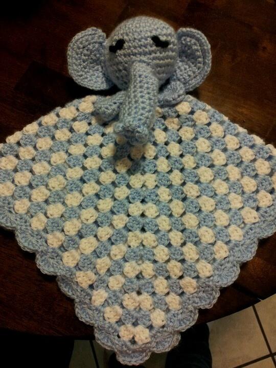 Free Crochet Pattern Elephant Lovey : Free Crochet Lovey Blanket Patterns ...