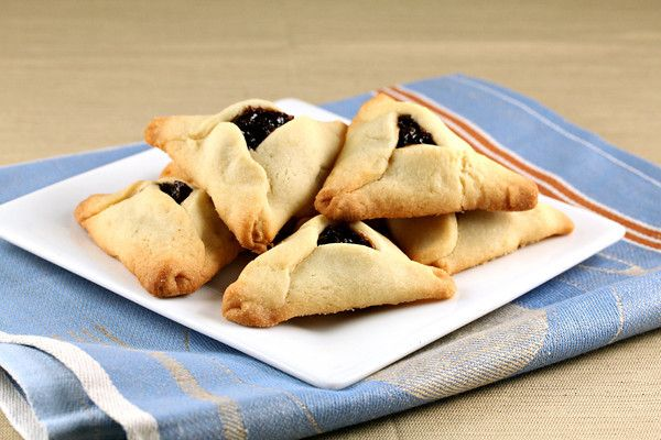 Hamantaschen with Prune Lekvar | Butter Cookies with Prune Filling