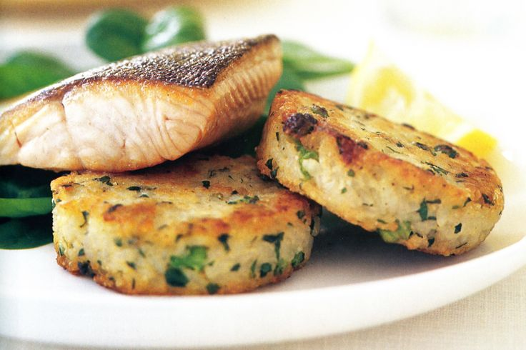 These delicious risotto cakes makes simple dinners feel special. Serve ...