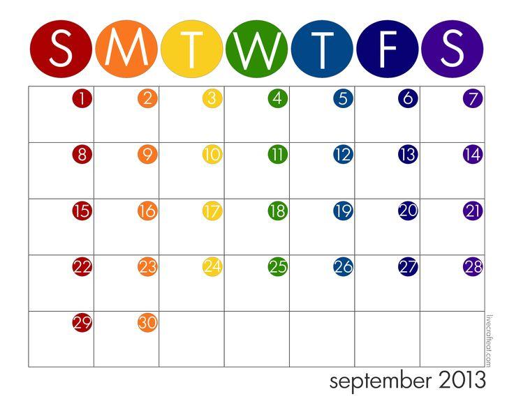 Year Calendar For Kids : Pinterest