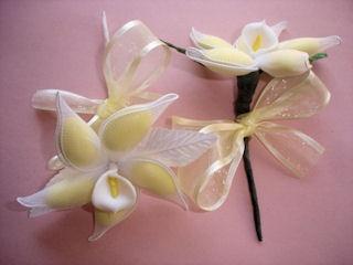 calla lily jordan almond party favor