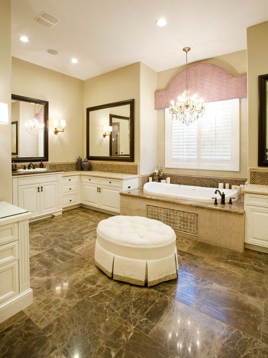 Beautiful master bathroom House Plans Pinterest