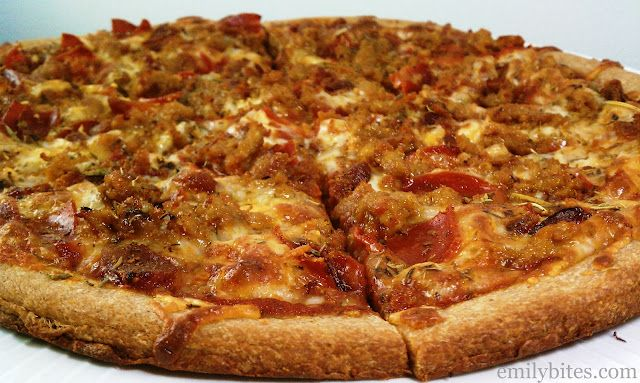 weight watchers meat lovers pizza