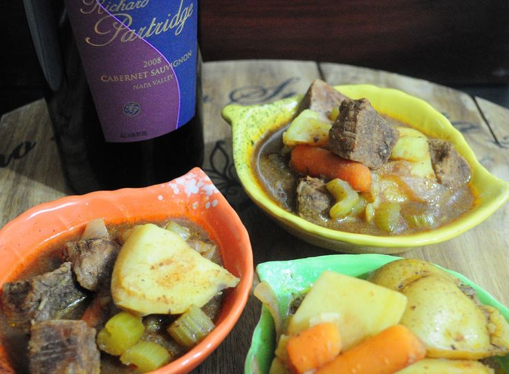 Beef Stew in the Slow Cooker - Hesitantly Healthy replace potatoes ...