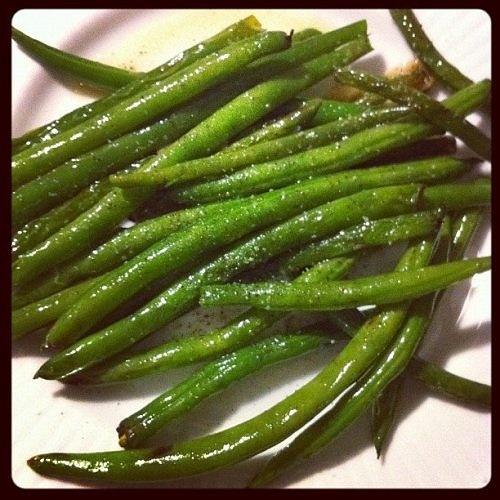 green beans, my favorite green veg | Cooking -- Vegetables | Pinterest