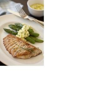 Garlic Halibut Steaks | HEALTHY SEAFOOD | Pinterest