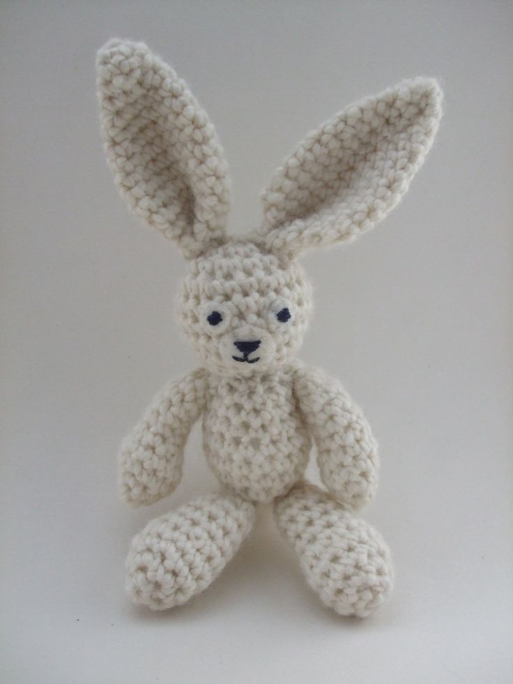 Bunny Crochet Pattern http://www.ravelry.com/patterns/library/bunny ...