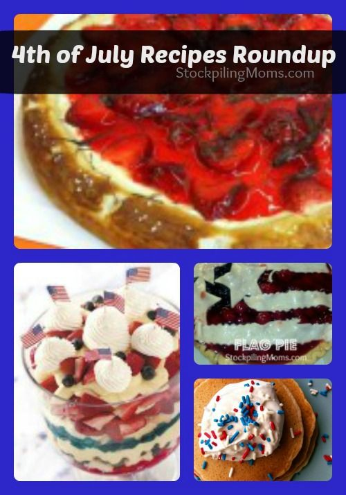 4 of july food recipes