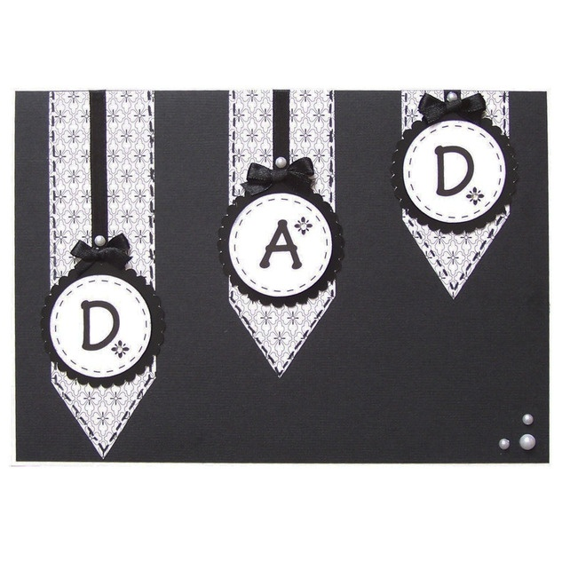 Handmade Dad Birthday Card £3.50 by Helle Belles Cards