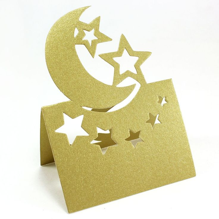 moon stars baby shower decorations moon and stars place cards