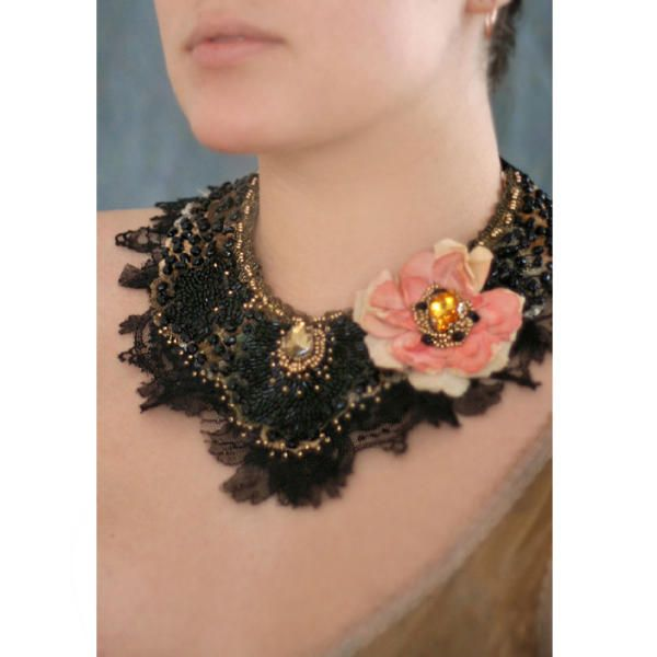 Tango cadena-romantic beaded necklace   Krista R