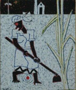 Ras Ichi Butcher--Barbados artist