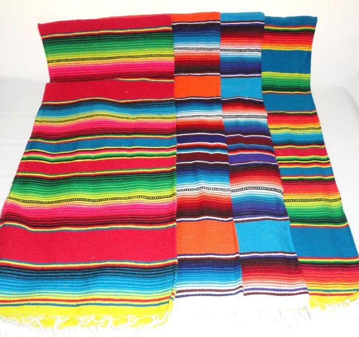 Sarape Serape Mexican Blanket, Saltillo Southwestern