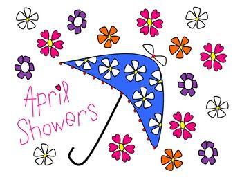 April Showers (... Free Clipart For Teachers Pay Teachers