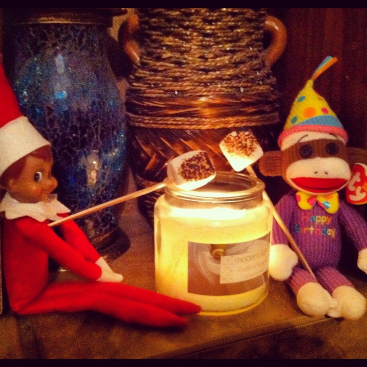 Elf on the shelf | Elf ideas | Pinterest