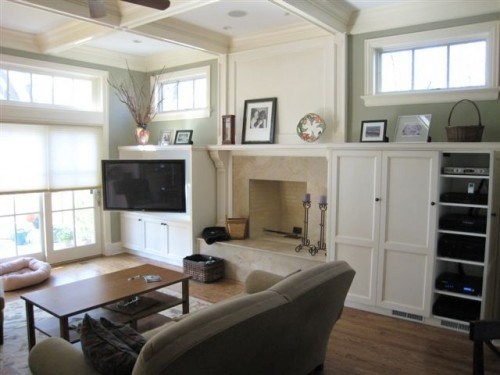Tv Next To Fireplace Decorating Ideas Pinterest