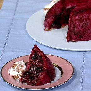Summer Berry Pudding Carla Hall | My just desserts | Pinterest