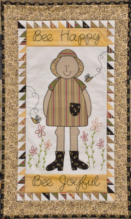 Millie: Bee Happy wall hanging