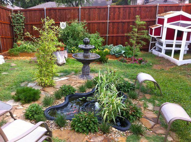 backyard sanctuary garden pinterest