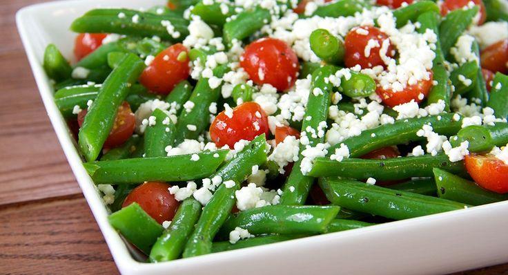 Green Bean Salad with Lemon Pepper Vinaigrette | Recipe