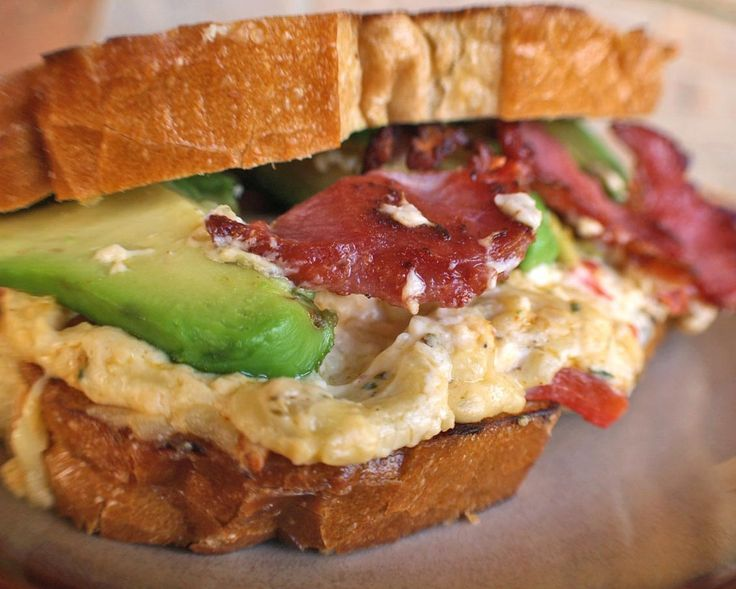 ... Cheddar & Chipotle Sandwich....With Bacon and Avocado!!!! YUM!!!!o