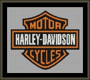 Harley-Davidson Cross Stitch Patterns