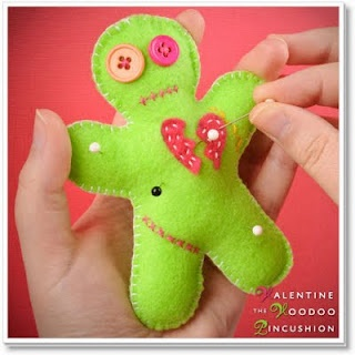 valentine's day voodoo doll