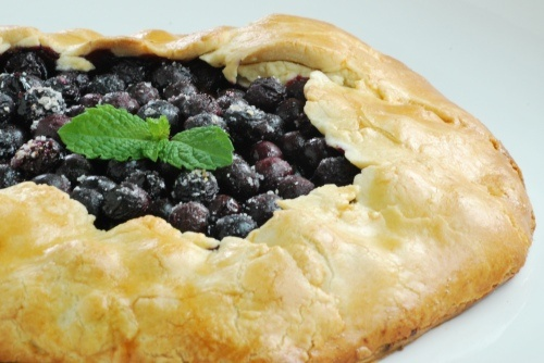 Blueberry Galette. This is unbelievably simple and outrageously ...