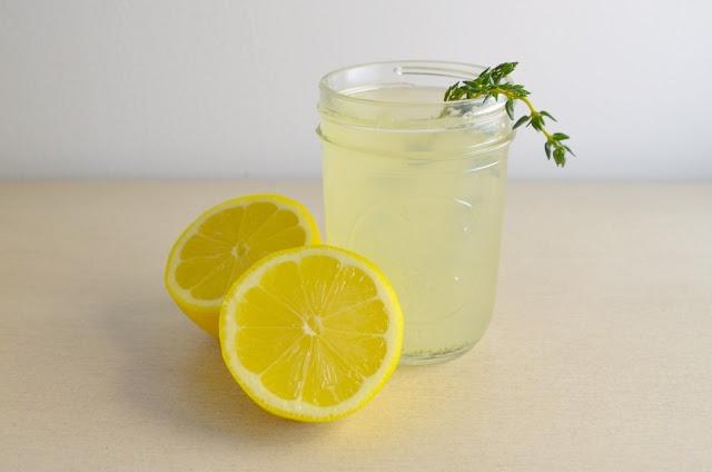 Thyme Lemonade | Drinks | Pinterest