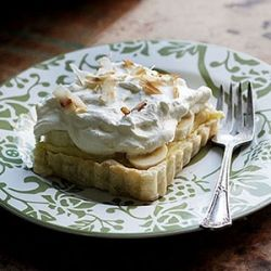 ... coconut, this easy Coconut & Banana Tart will transport you to the