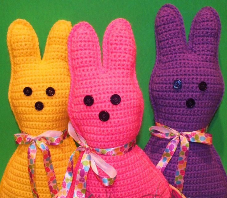 Easter Peep Inspired Pillow Doll Free Pattern http ...