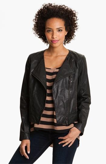 Caslon Jackets & Blazers - Caslon (Nordstrom brand) leather jacket 2