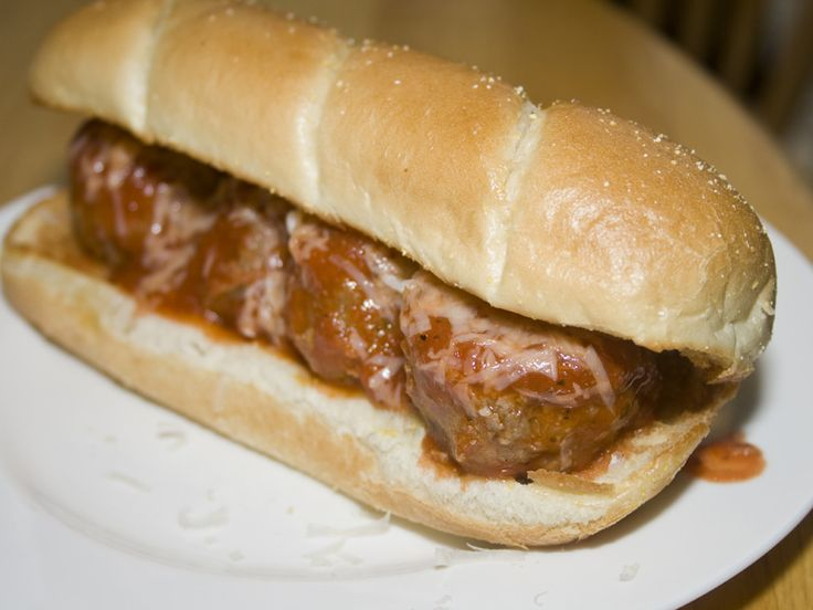 Meatball Sub Sandwiches | Between the Buns: Sandies .. Burgers .. | P ...