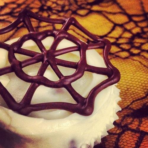 Chocolate Pumpkin Halloween Cupcake - Gluten Free