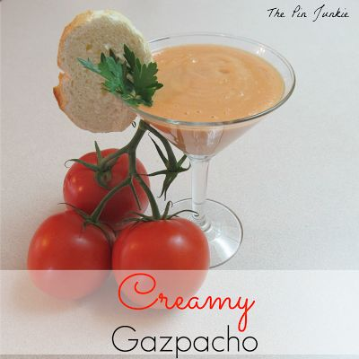 Creamy Gazpacho | Yummy taste tested recipes | Pinterest