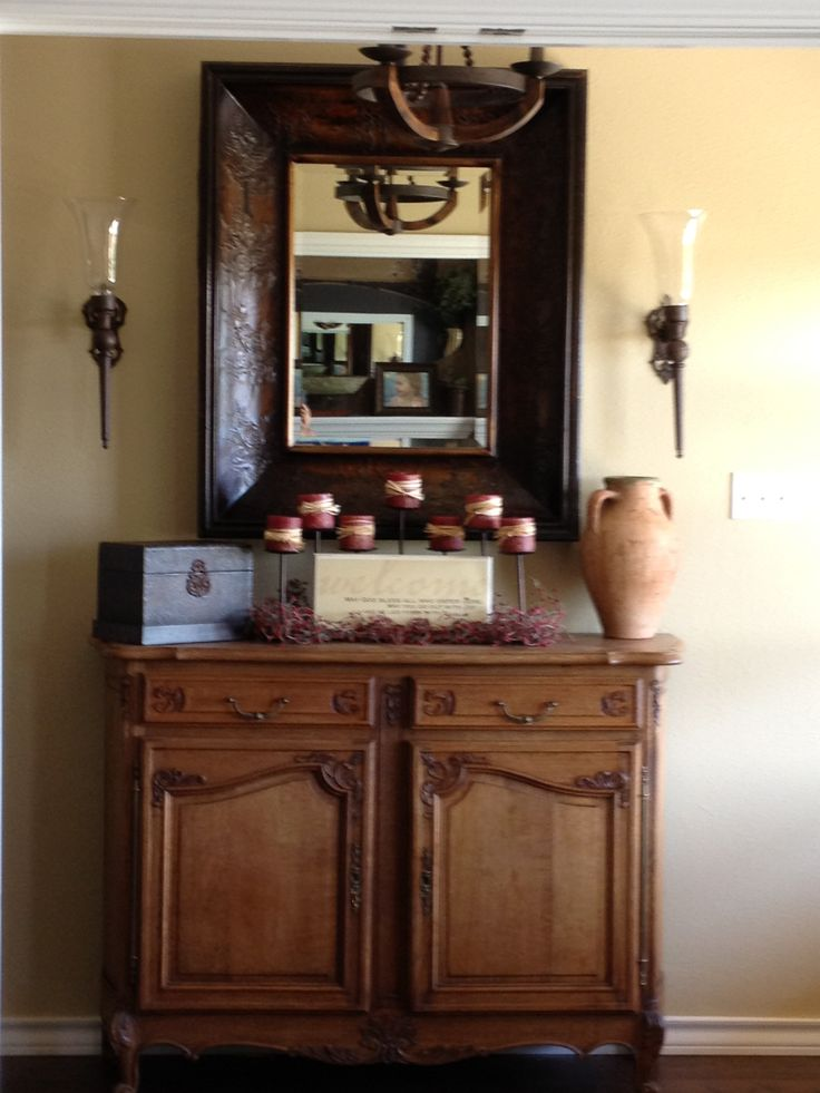 entryway table and mirror entry way pinterest