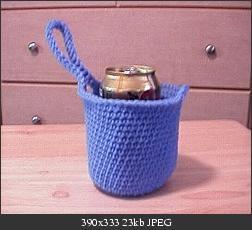 Crochet Pattern: Grandma Rupp's Drawstring Ditty Bag For