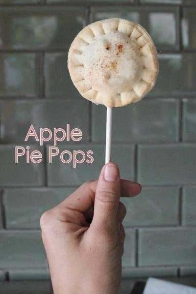 APPLE PIE POPS - CUTE AND EASY!