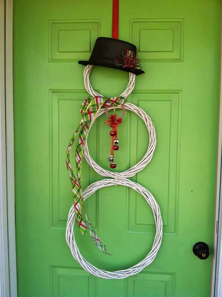 Cute n easy christmas door decor stuff to try pinterest