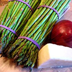 Asparagus, Pecorino and Red Onion Salad | Favorite Recipes - Some pro ...