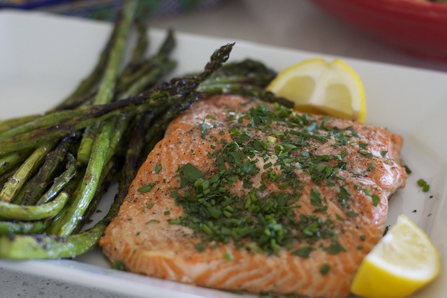 Roasted Salmon with Butter and Herbs by Krystaslifeinfood.com, via ...