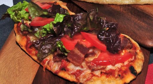Grilled BLT Pizza Recipe on Yummly | Foods | Pinterest