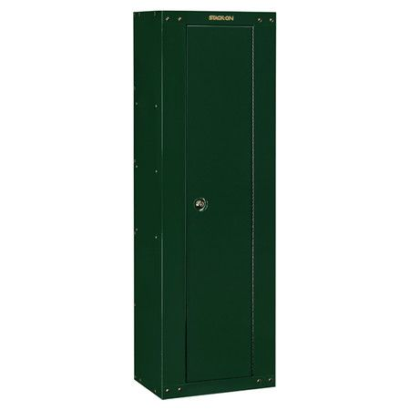 Top storage shelf and key coded lock this secure gun safe offers top