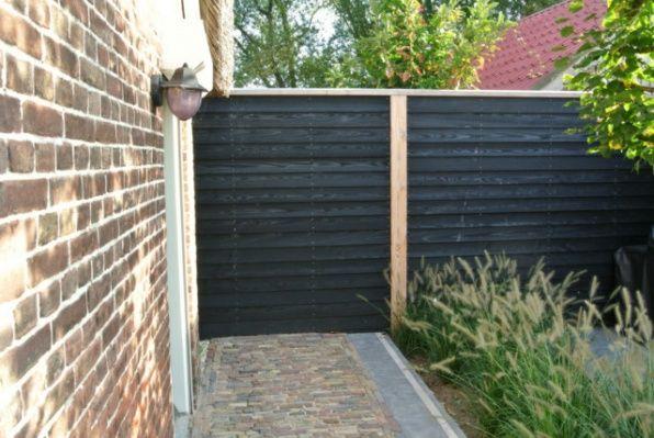 Zwarte planken garden ideas pinterest - Planken zwarte ...